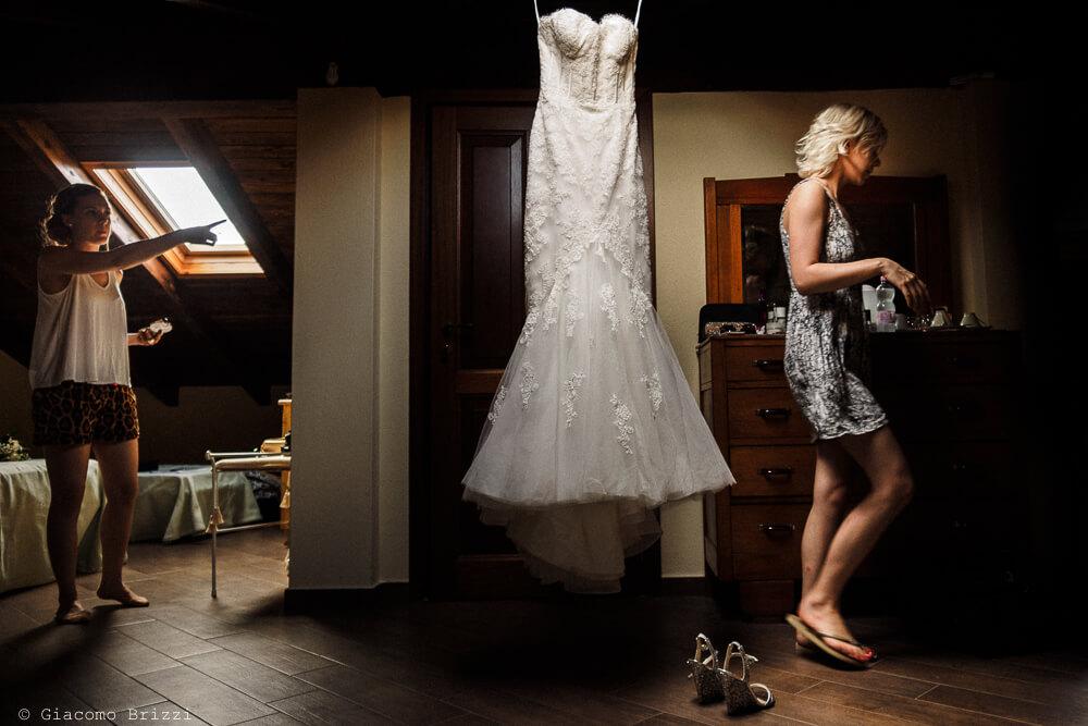 Abito da sposa Matrimonio ad Alghero
