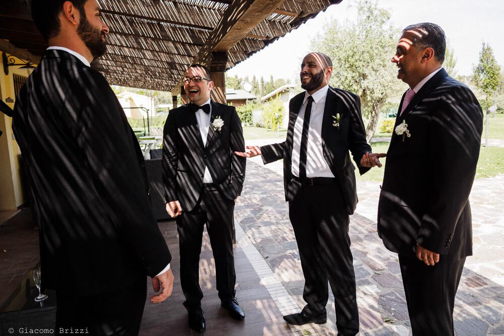 Gli invitati Matrimonio ad Alghero