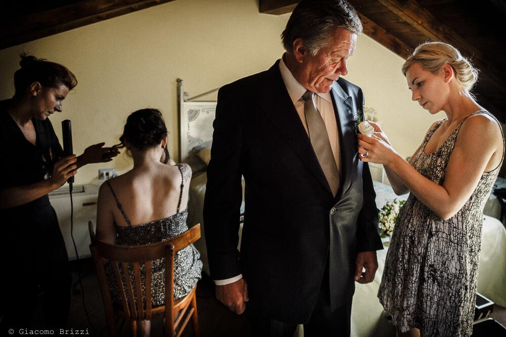 Preparazione invitati Matrimonio ad Alghero