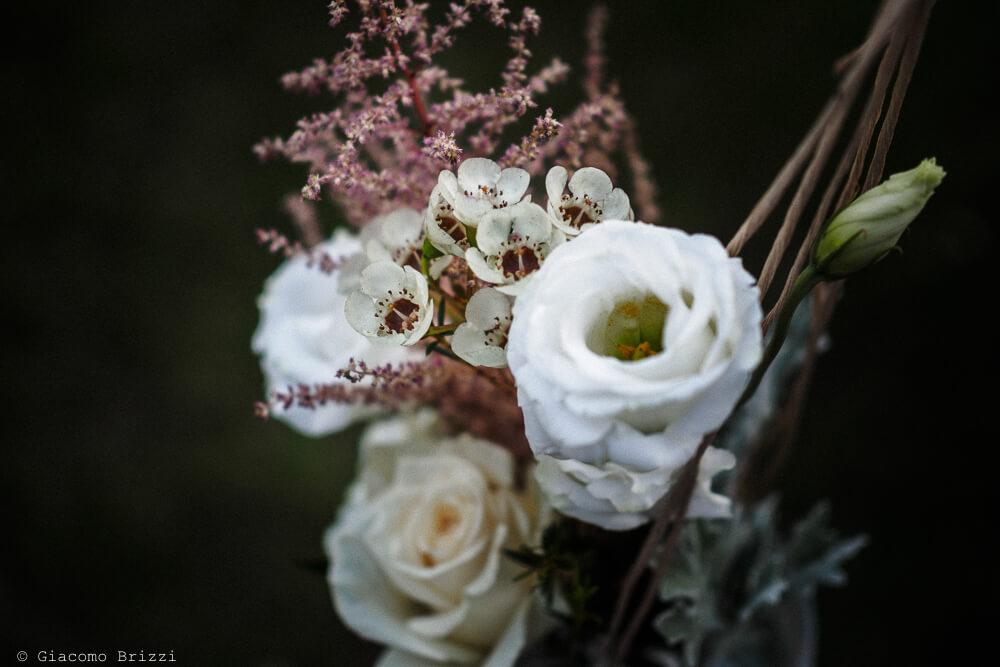 Dettaglio fiori Matrimonio ad Alghero