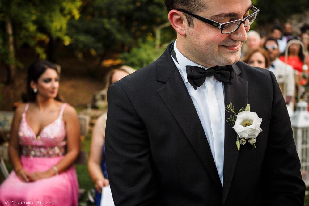 Lo sposo Matrimonio ad Alghero
