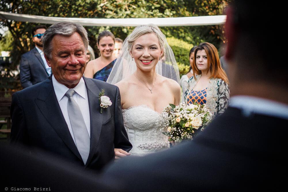 Sposa con il padre Matrimonio ad Alghero