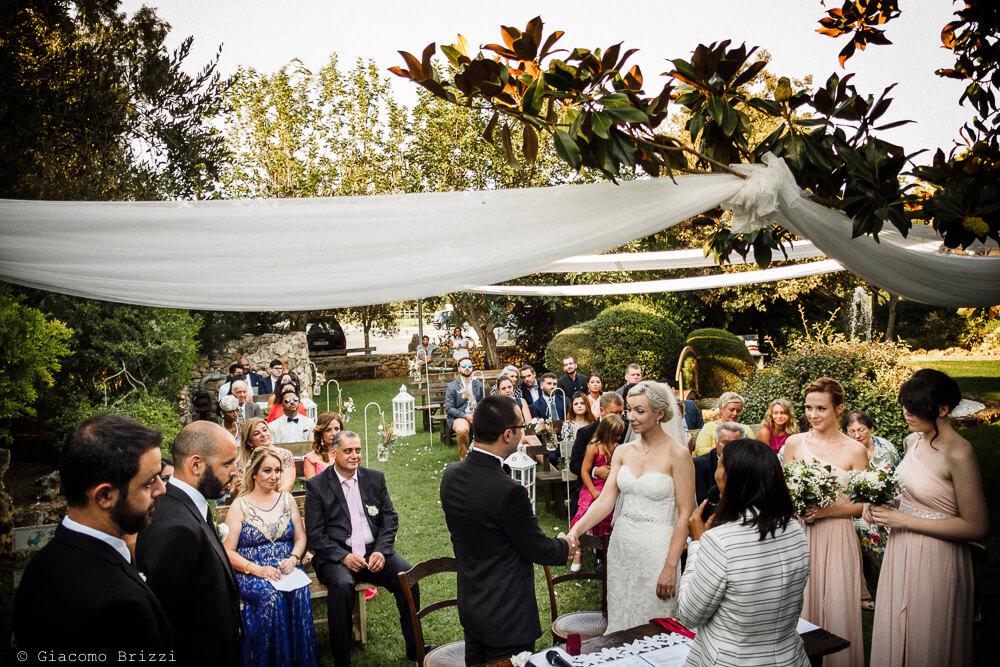 Incontro degli sposi Matrimonio ad Alghero