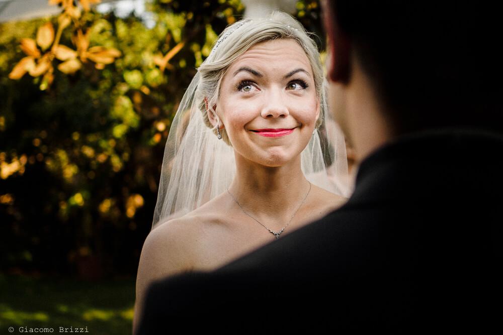 Primo piano della sposa Matrimonio ad Alghero