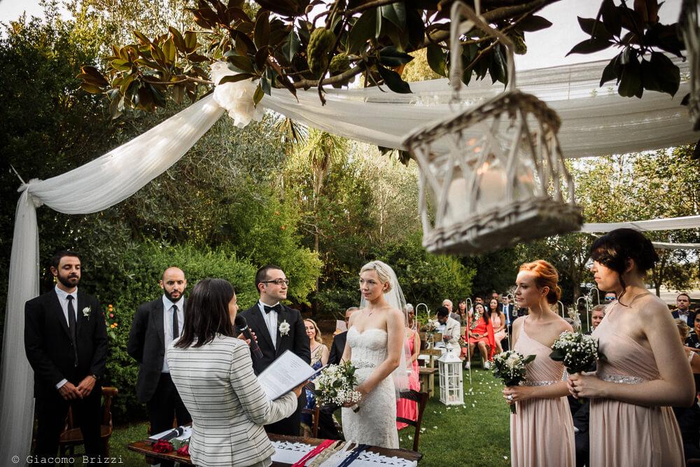 La cerimonia Matrimonio ad Alghero