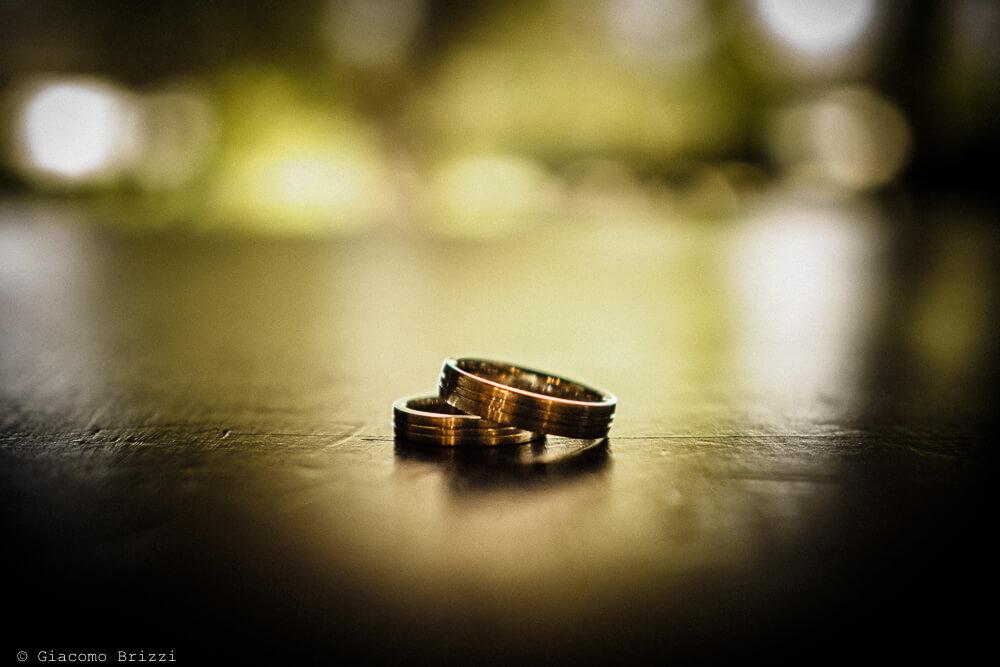 Dettaglio fedi nuziali Matrimonio ad Alghero