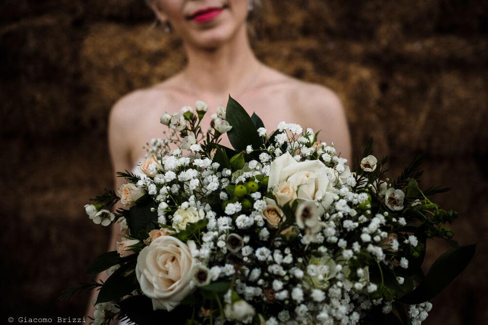 Bouque in primo piano Matrimonio ad Alghero