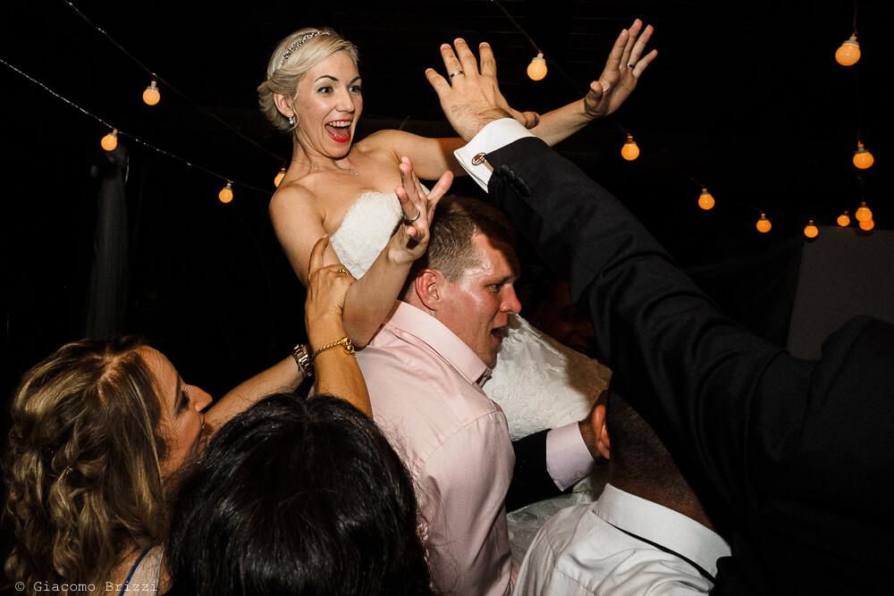 Festeggiamenti alla sposa Matrimonio ad Alghero