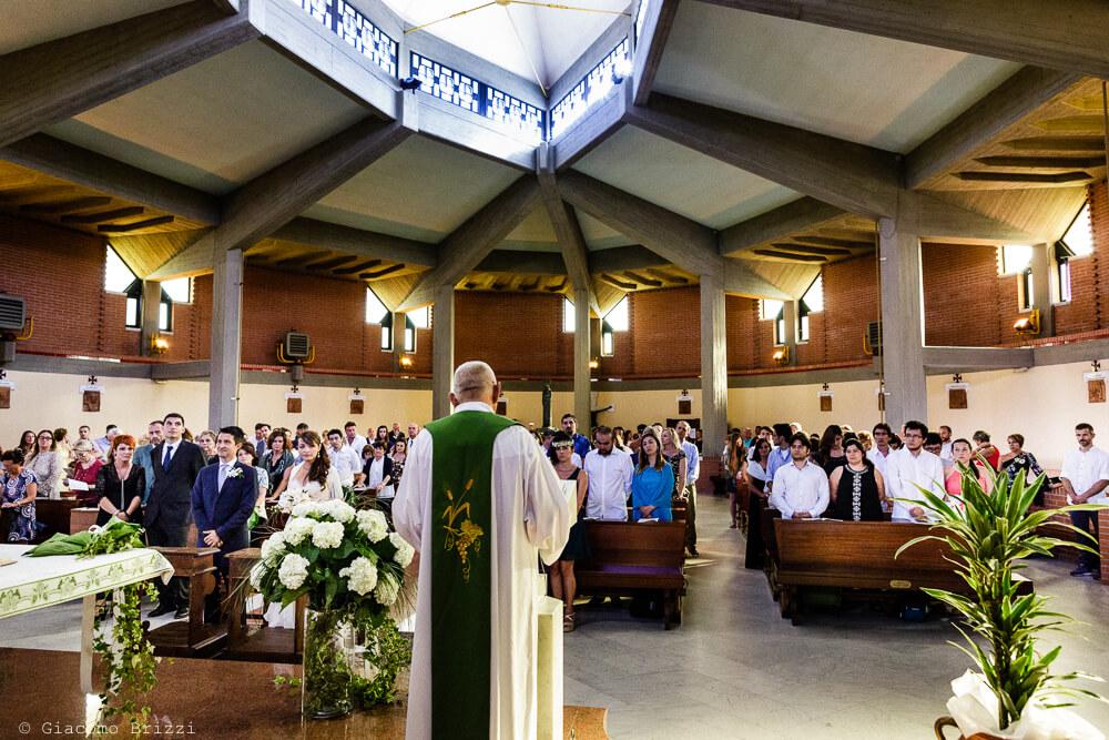 La funzione religiosa Matrimonio a Sarzana