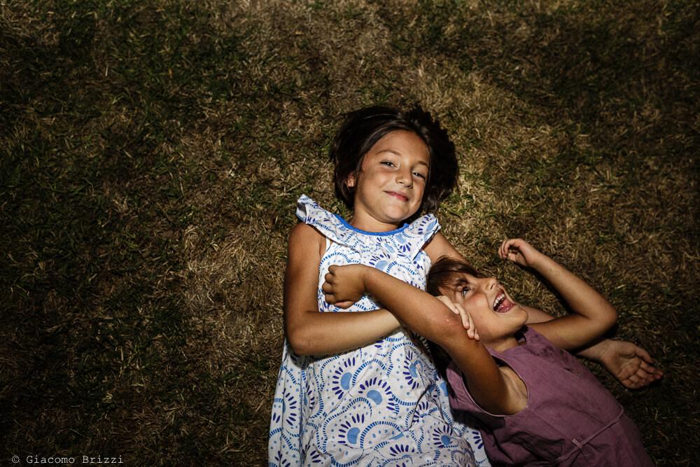 Bambine che ridono Matrimonio a Sarzana