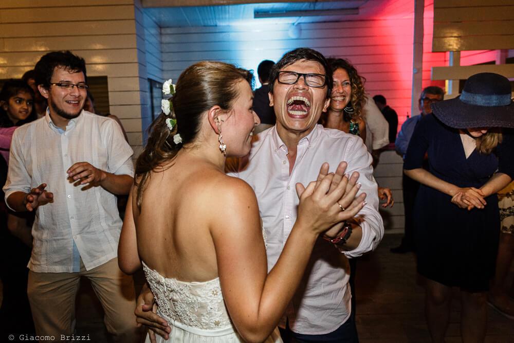 Un ballo con la sposa Matrimonio a Sarzana