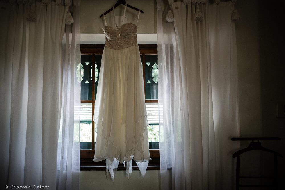 L'abito della sposa Matrimonio a Sarzana