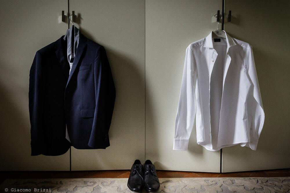 L'abito dello sposo Matrimonio a Sarzana