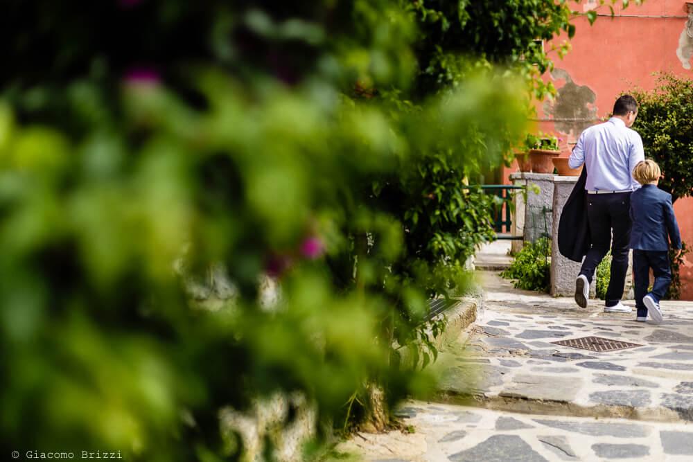 Dettaglio location al Matrimonio a Portovenere