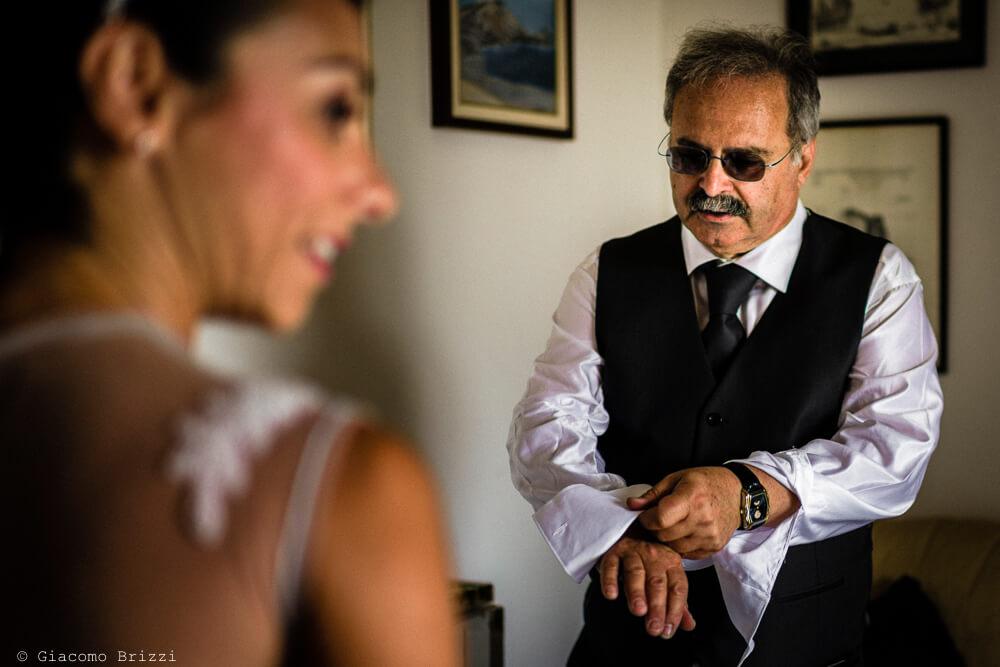 Preparativi delle sposo al Matrimonio a Portovenere