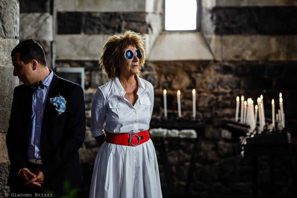 Un invitata al Matrimonio a Portovenere
