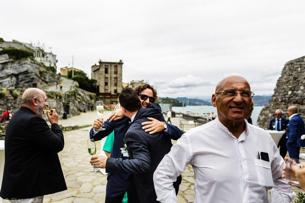 Abbracci al Matrimonio a Portovenere