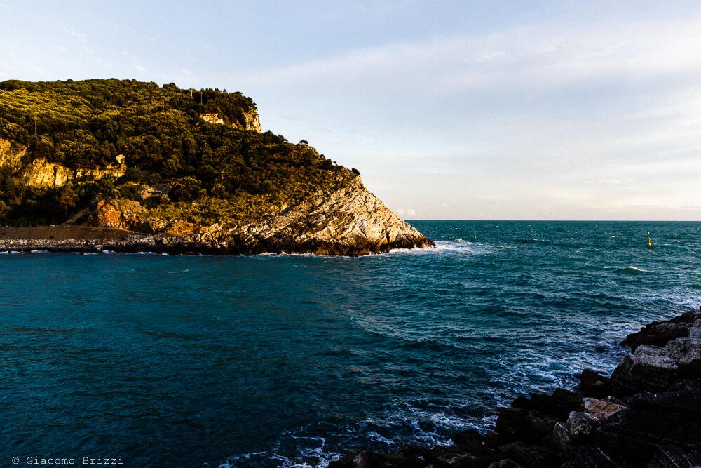 Foto panoramica al ricevimento del Matrimonio a Portovenere