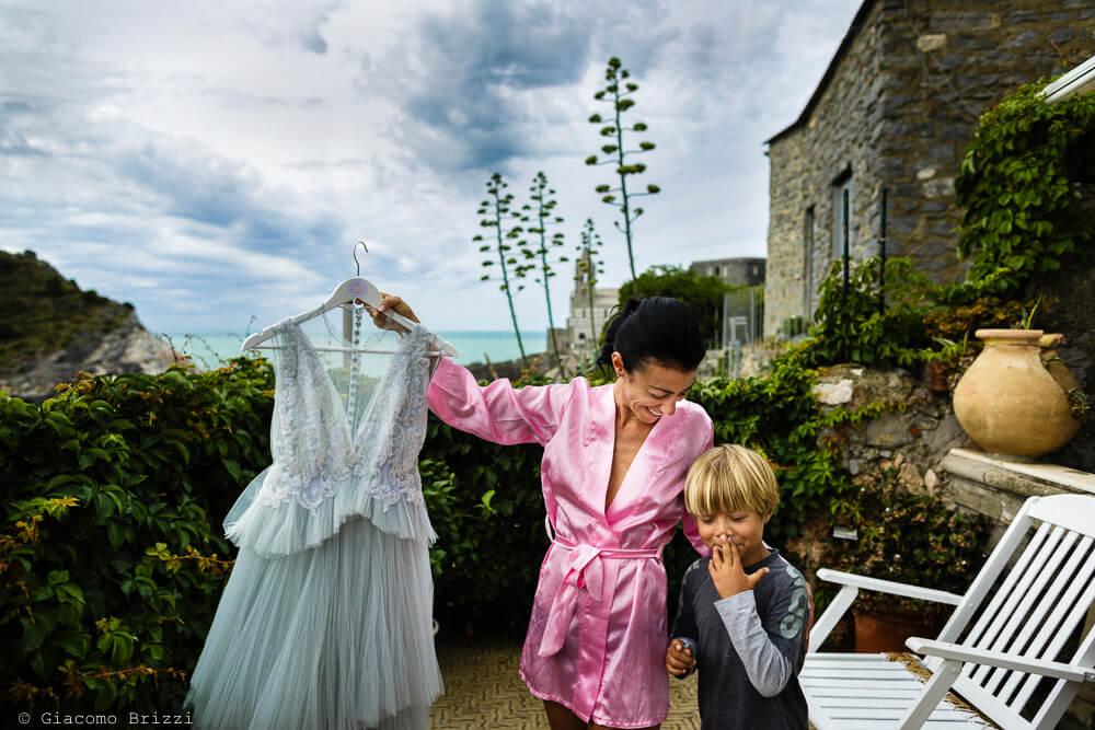 Preparativi al Matrimonio a Portovenere