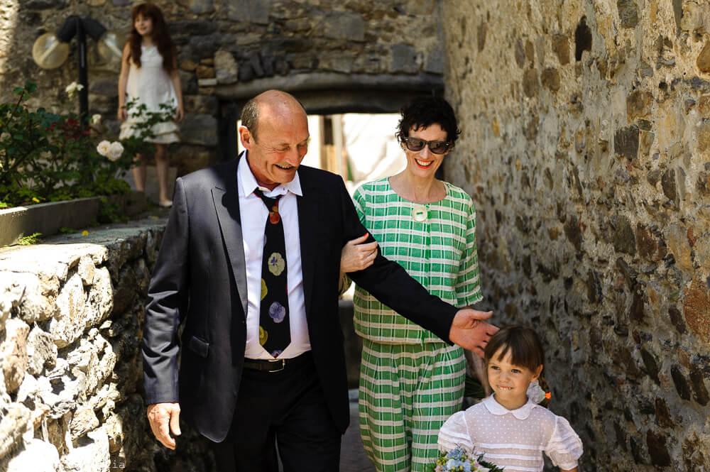 Verso la cerimonia al Matrimonio di Ameglia