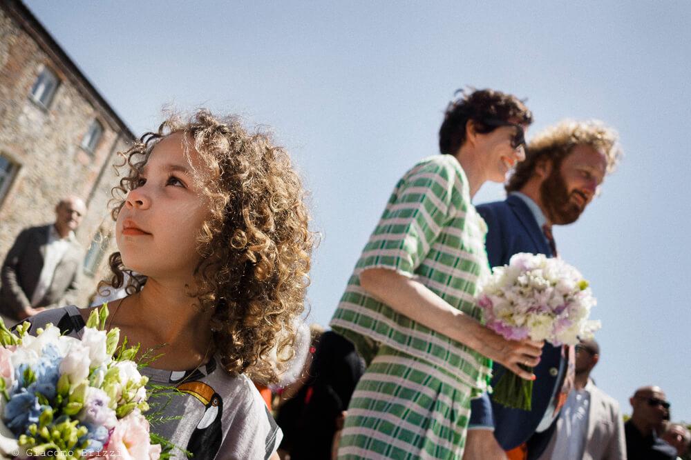 Dettaglio degli sposi al Matrimonio di Ameglia