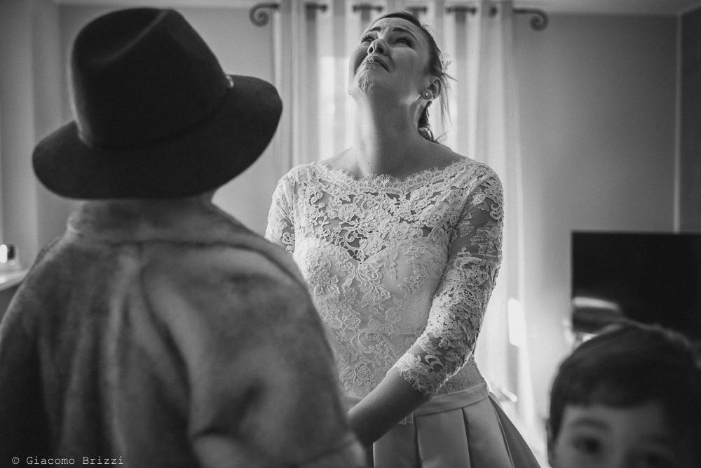 Foto della sposa preparativi matrimonio massa carrara