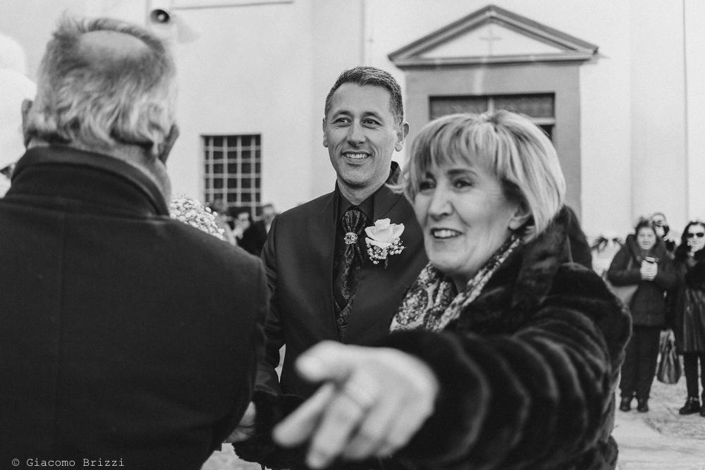 Lo sposo vede la sposa matrimonio massa carrara