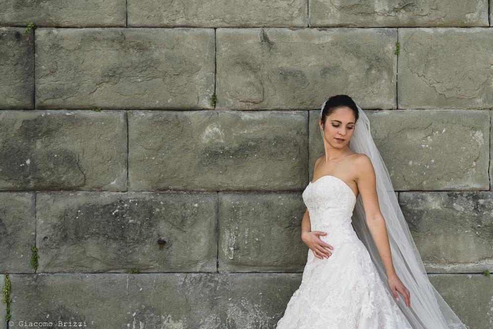 Foto a figura intera della sposa, fotografo matrimonio pietrasanta versilia