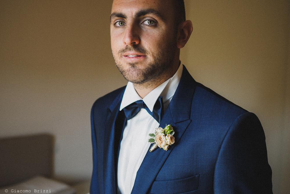 Foto primo piano dello sposo, fotografo matrimonio pietrasanta versilia