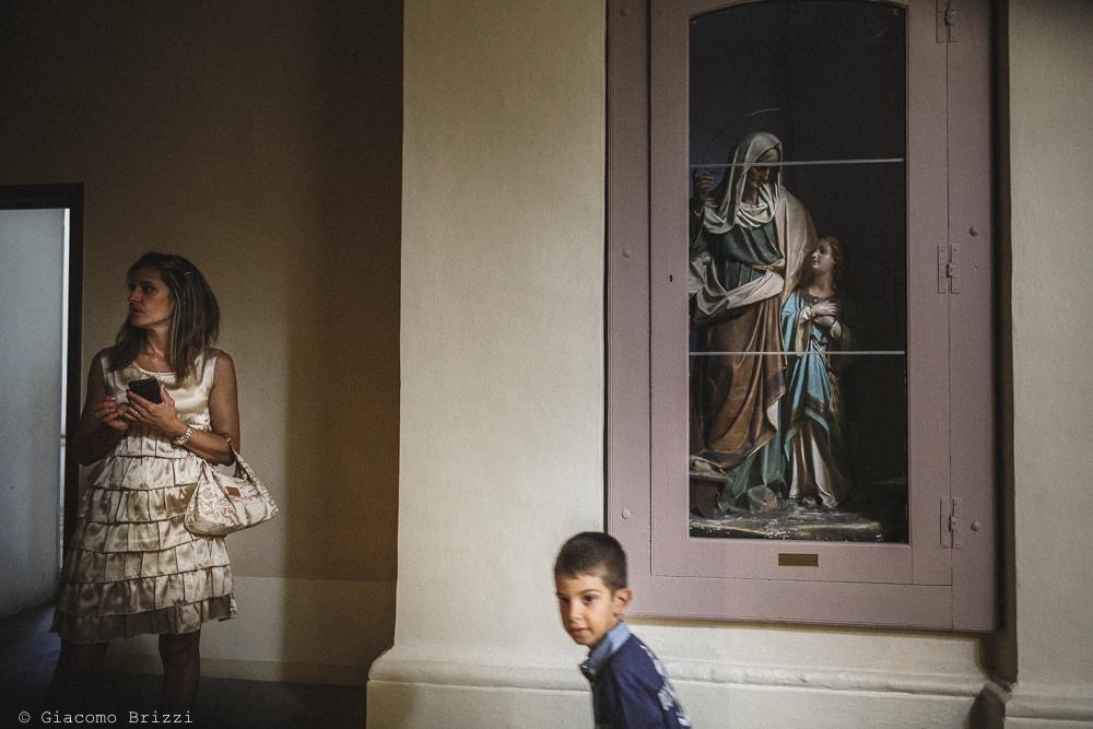 Foto di una statua della Madonna, fotografo matrimonio francavilla fontana, puglia