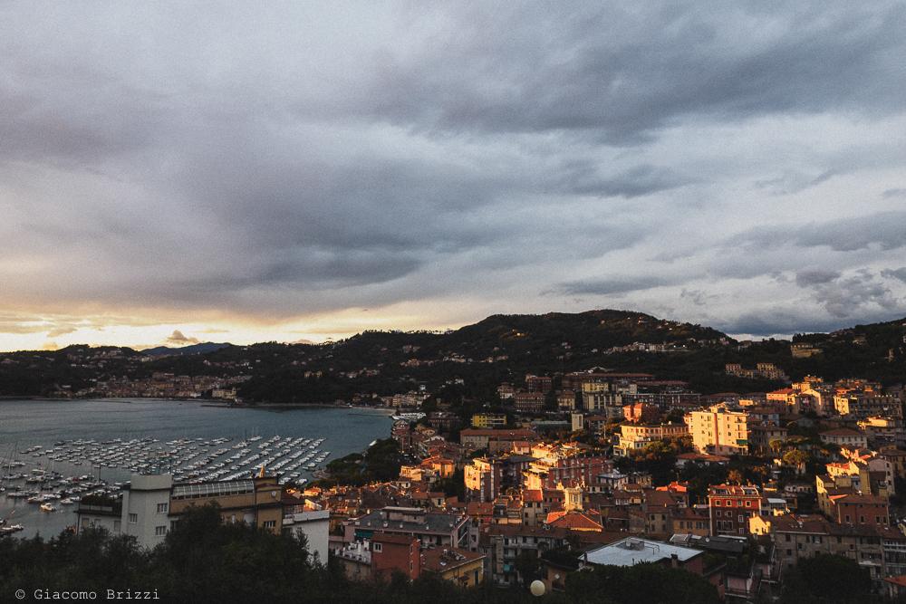 Foto panoramica del golfo ligure, fotografo matrimonio ricevimento hotel europa, lerici