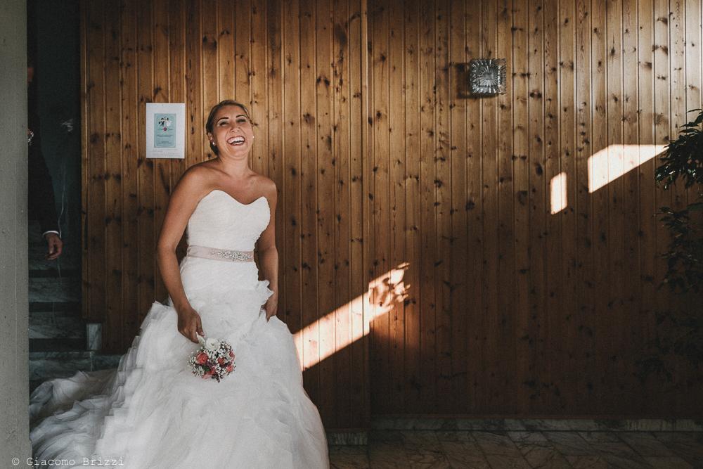 Una foto della sposa matrimonio viareggio la costa dei barbari