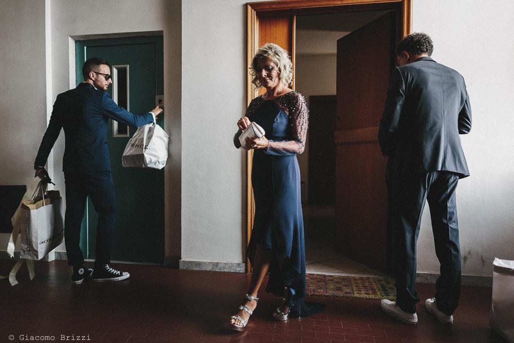 Una foto degli invitati preparativi matrimonio viareggio la costa dei barbari