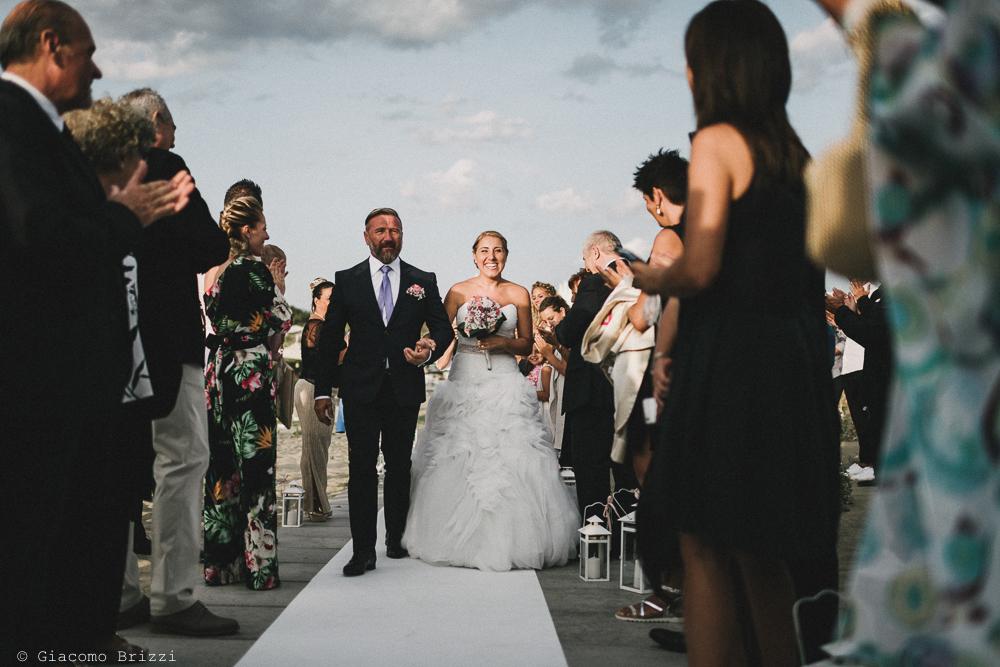 L'arrivo della sposa matrimonio viareggio la costa dei barbari