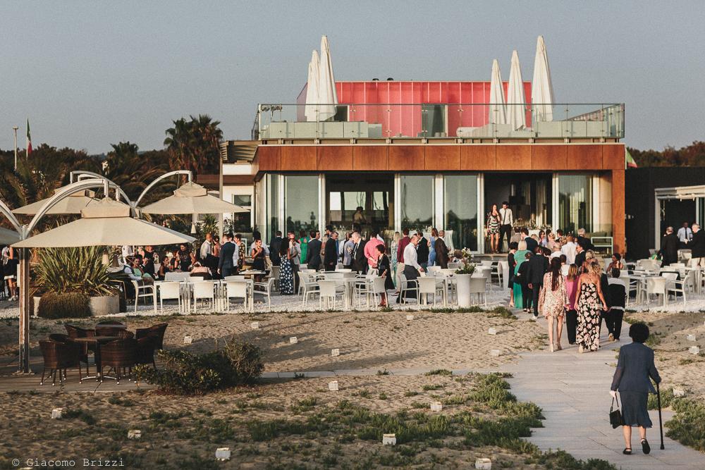 Foto della location matrimonio viareggio la costa dei barbari