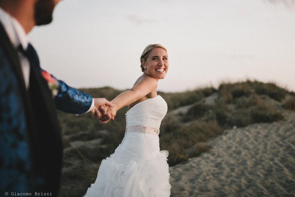 Foto primo piano della sposa matrimonio viareggio la costa dei barbari