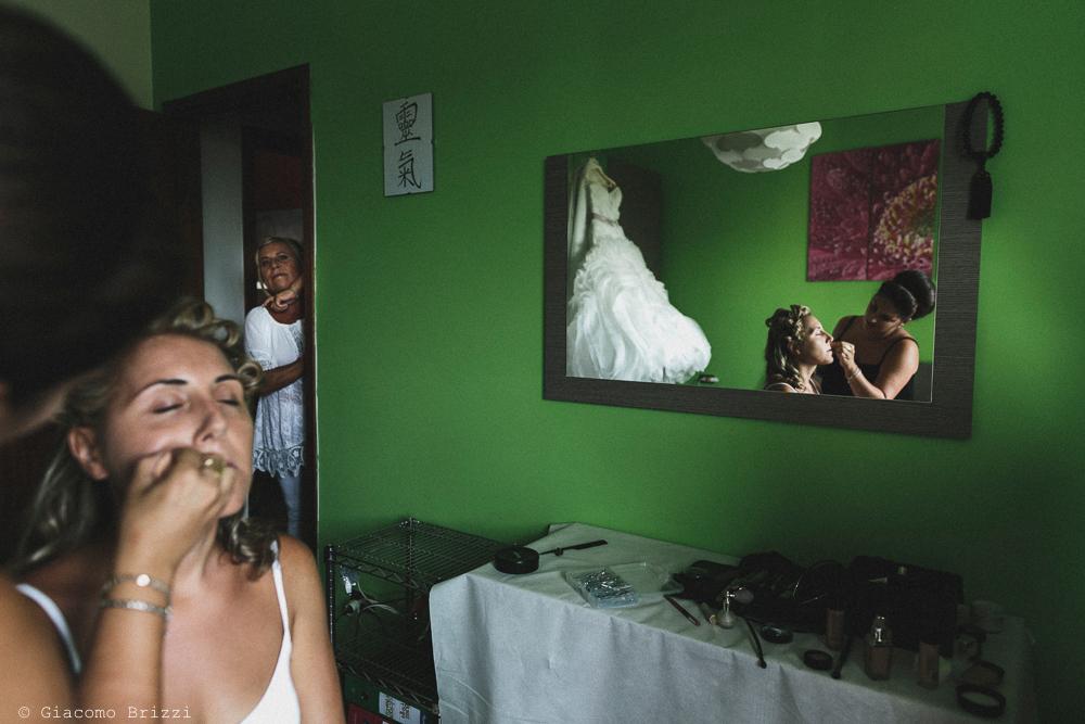 Preparativi di trucco matrimonio viareggio la costa dei barbari
