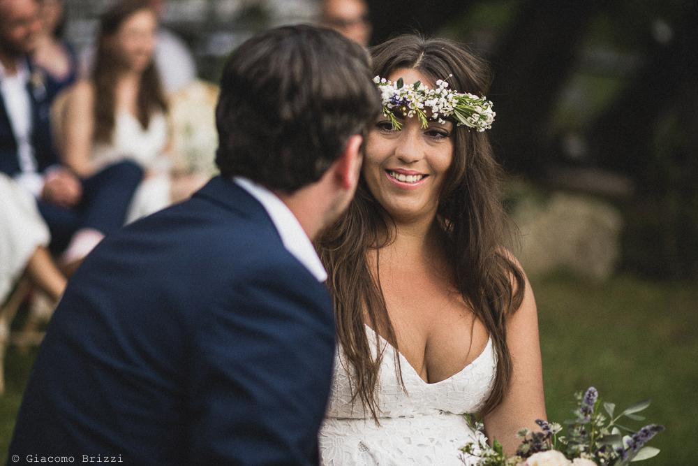 Foto sugli sguardi degli sposi, fotografo matrimonio ricevimento la ginestra, finale ligure