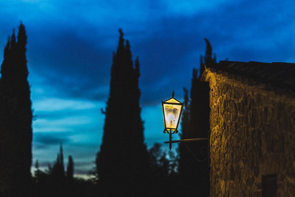 Scorcio notturno al ricevimento matrimonio ricevimento terre di nano