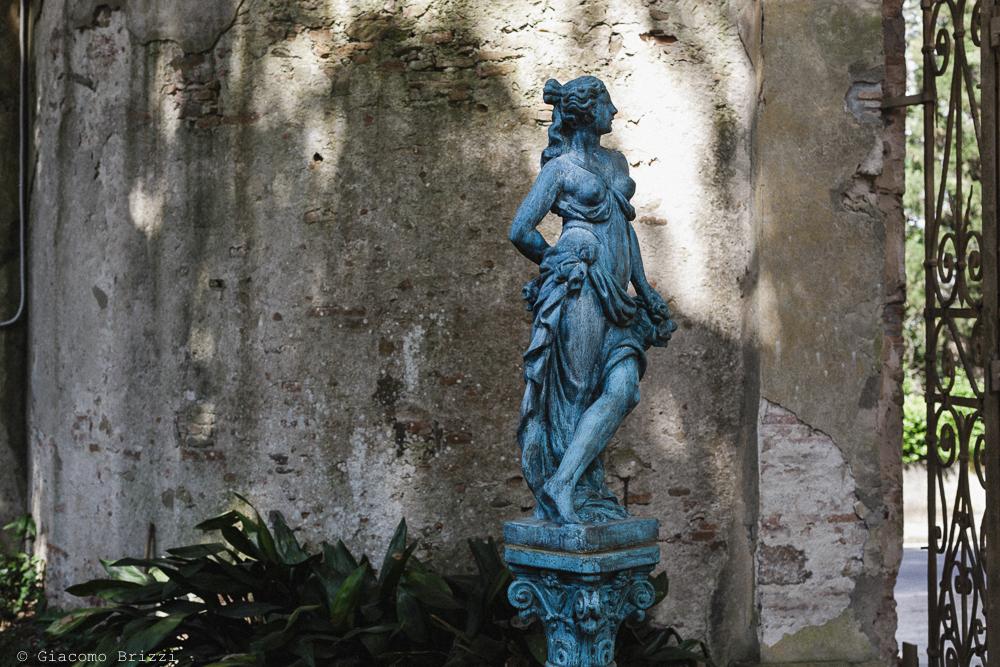 Matrimonio San Giuliano Terme, Pisa. Primo piano di statuetta. Giacomo Brizzi Fotografo