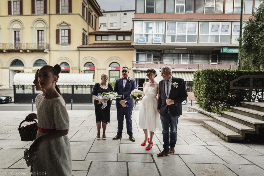 Gli sposi con i genitori, matrimonio Massa Carrara Toscana