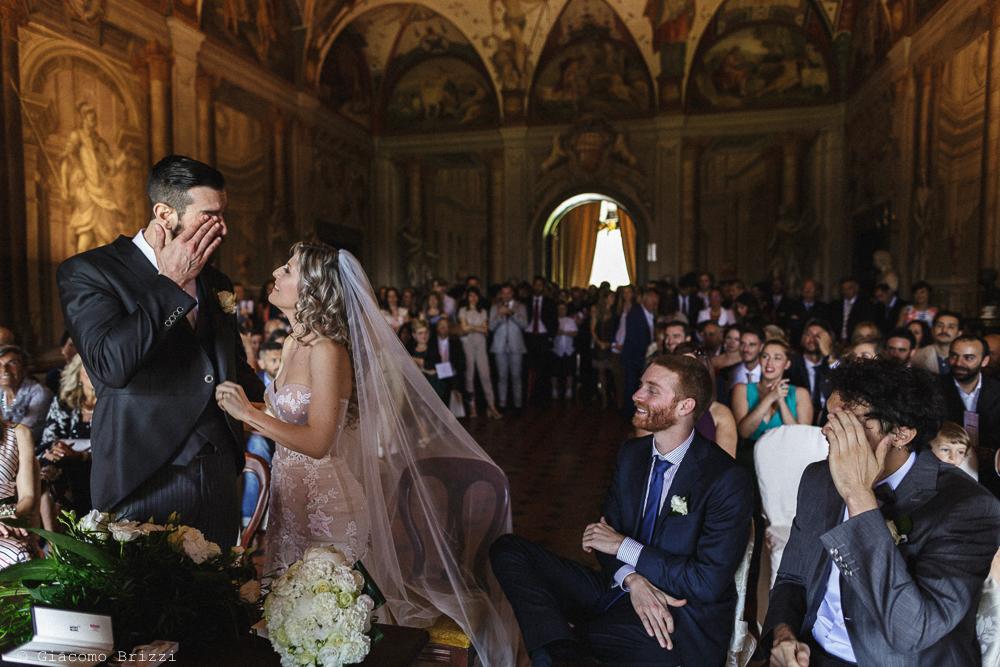 Lo sposo commosso, matrimonio San Giuliano Terme, Pisa. Giacomo Brizzi Fotografo