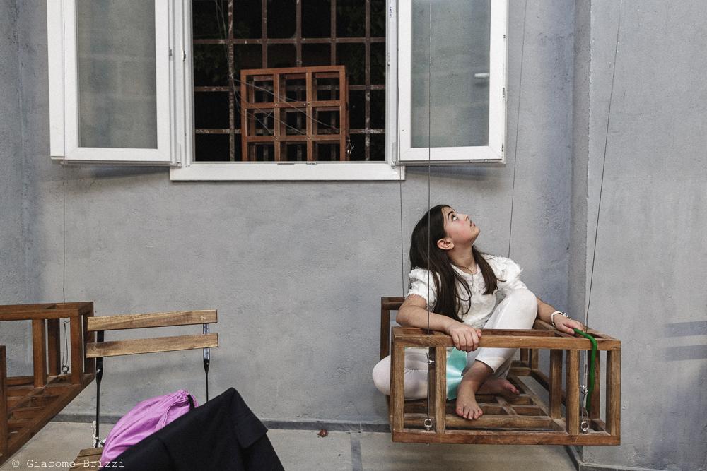 Bambina in un cesto, matrimonio Massa Carrara Toscana