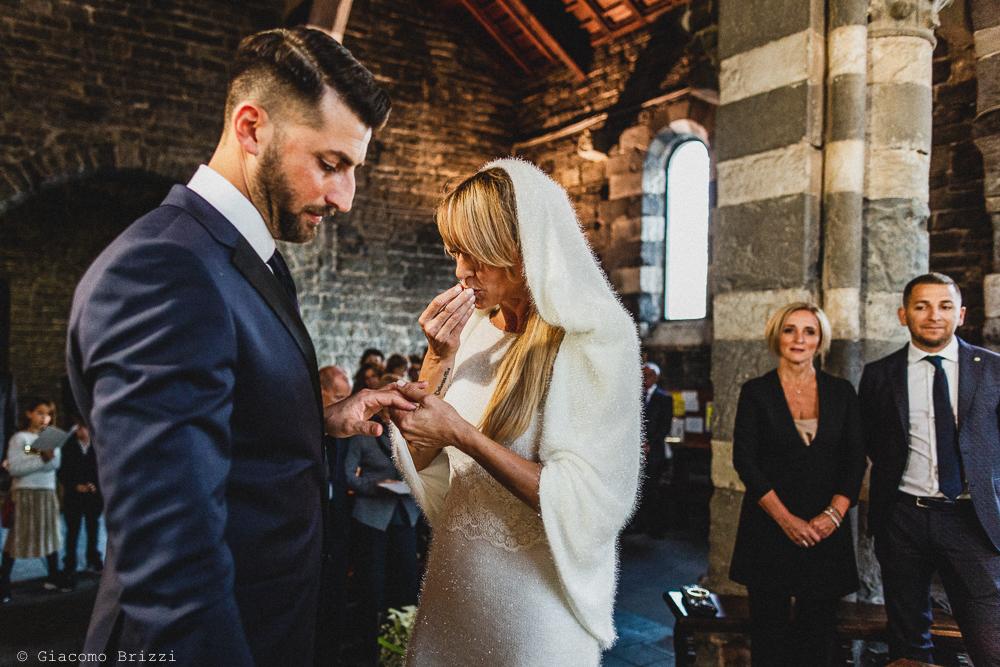 Servizio fotografico di matrimonio a Portovenere nelle 5 Terre. Alberto & Francesca sposi. Giacomo Brizzi fotografo professionista di matrimonio in Toscana e Liguria.